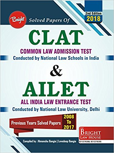 CLAT & AILET SOLVED PAPERS (2008-2017) [SOLVED PAPERS OF CLAT & AILET] 2018 Paperback - 2017