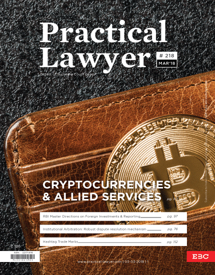 Practical Lawyer - Cryptocurrencies and Allied Services