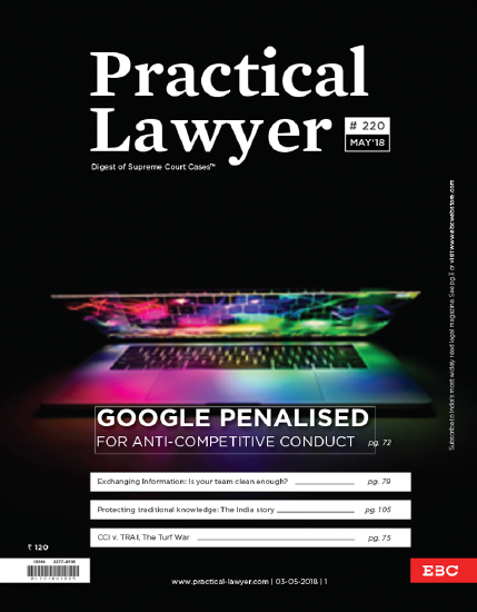The Practical Lawyer - Google Penalised For Anti Competitive Conduct