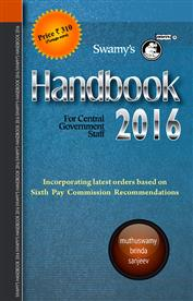 Swamy's Handbook for CGS 2016 - With Free Master Diary 2016