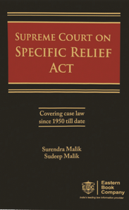 SUPREME COURT ON SPECIFIC RELIEF ACT
