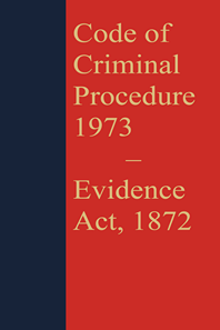 Code of Criminal Procedure 1973 with Evidence Act 1872 (Coat Pocket Edition)