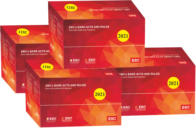Bare Acts Box Set - 2021  Containing 250 Important Bare Acts and Rules