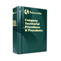 Company Secretarial Procedures and Precedents (Pay-in-Advance Service)