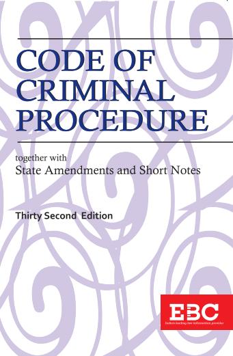 Code of Criminal Procedure, 1973
