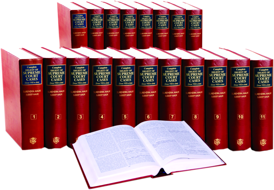 Complete Digest of Supreme Court Cases (Since 1950 to date, to be published in about 70 vols.) Vols 1 to 51 published and available.