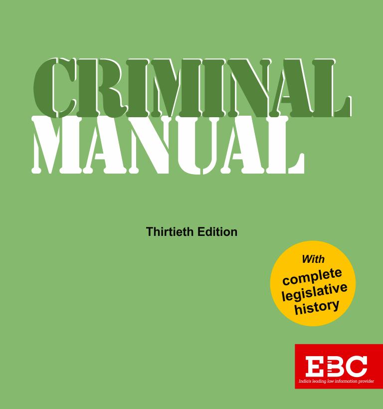 CRIMINAL MANUAL