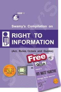 RIGHT TO INFORMATION WITH FREE MCQ - 2019