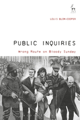 Public Inquiries Wrong Route on Bloody Sunday