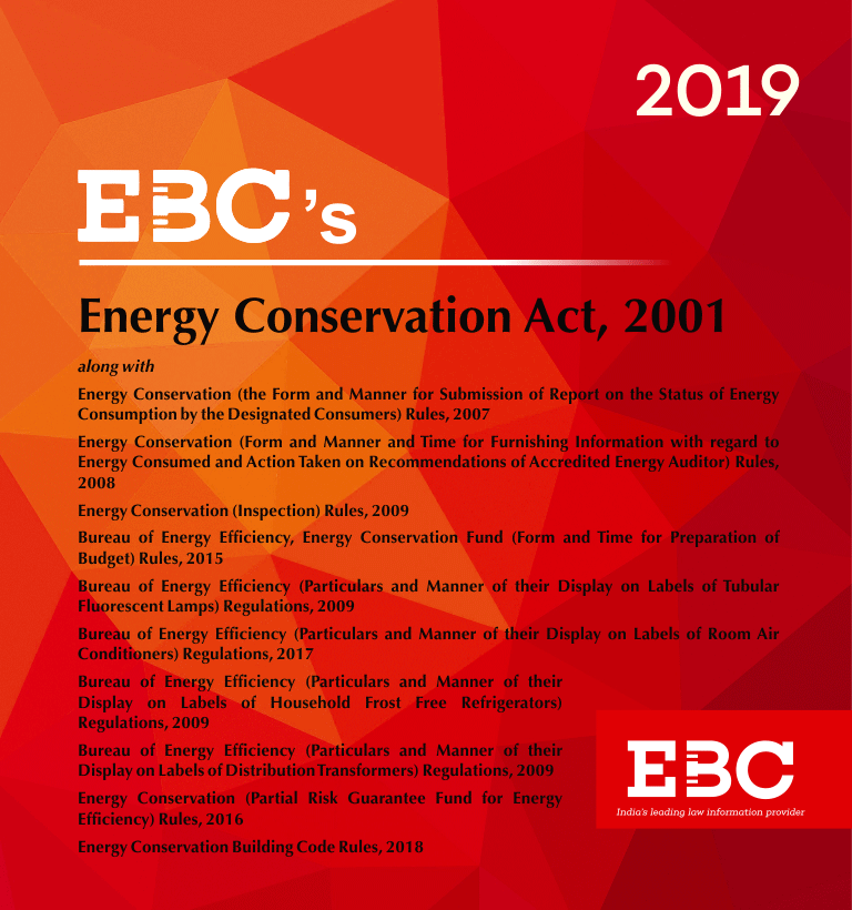 Energy Conservation Act 2001 along with allied Rules