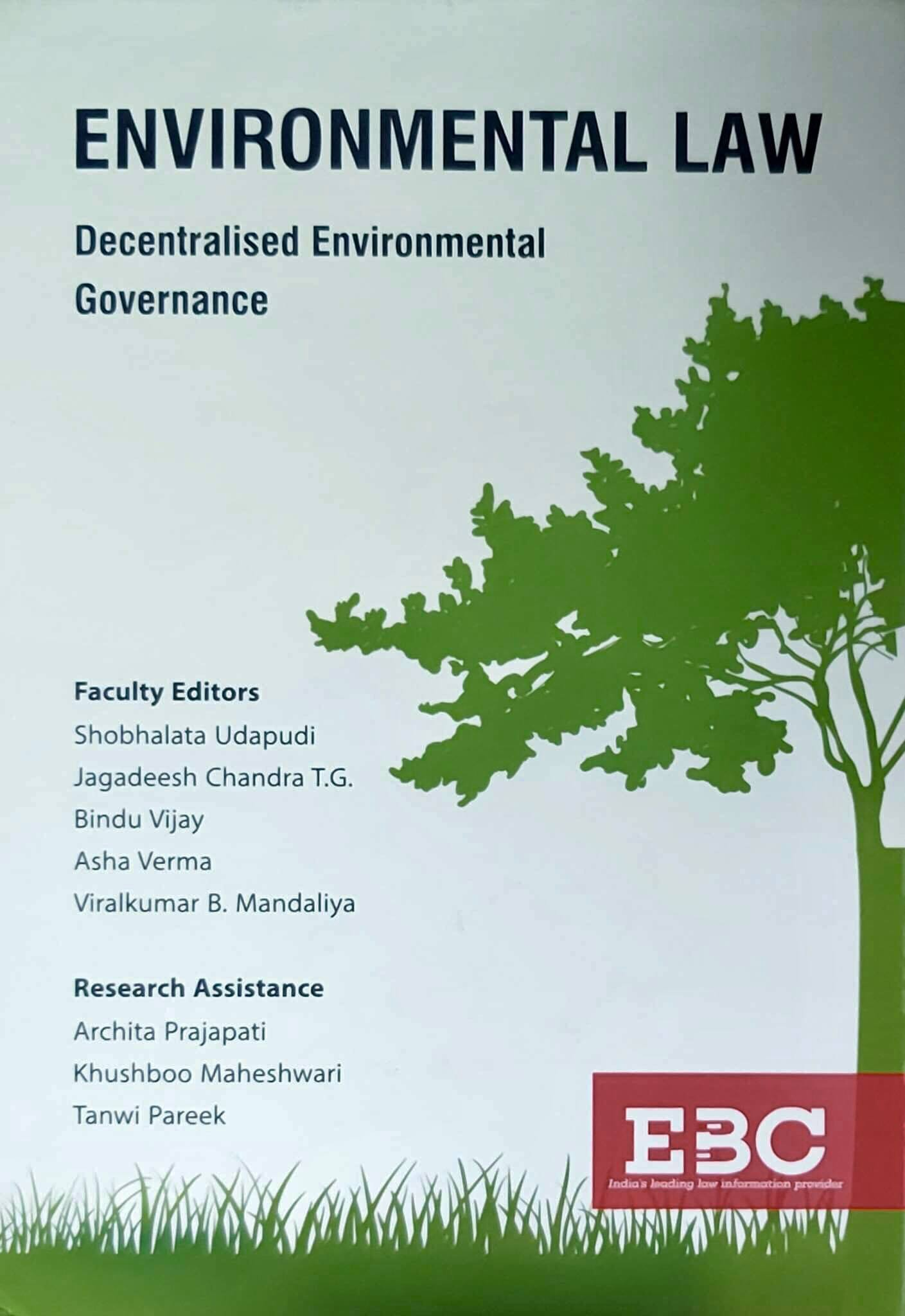 Environmental Law: Decentralised Environmental Governance
