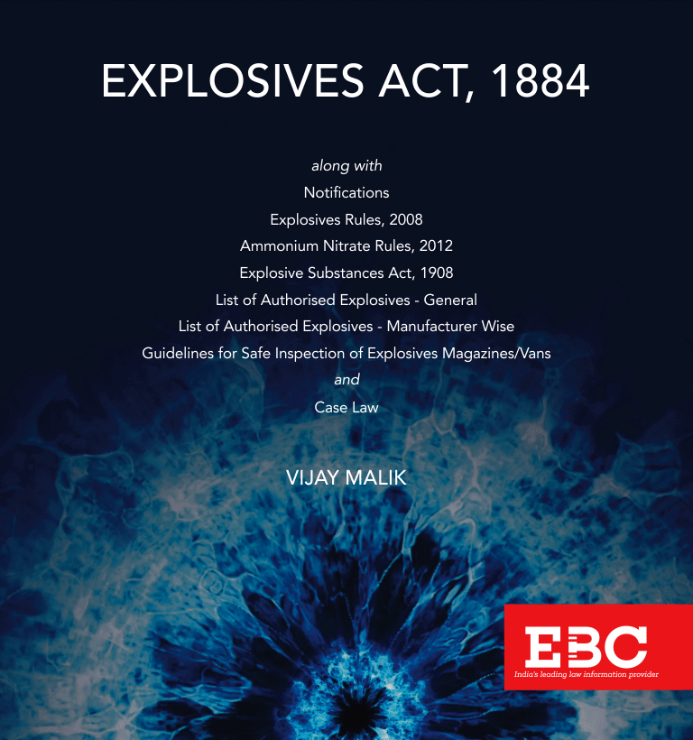 Explosives Act, 1884