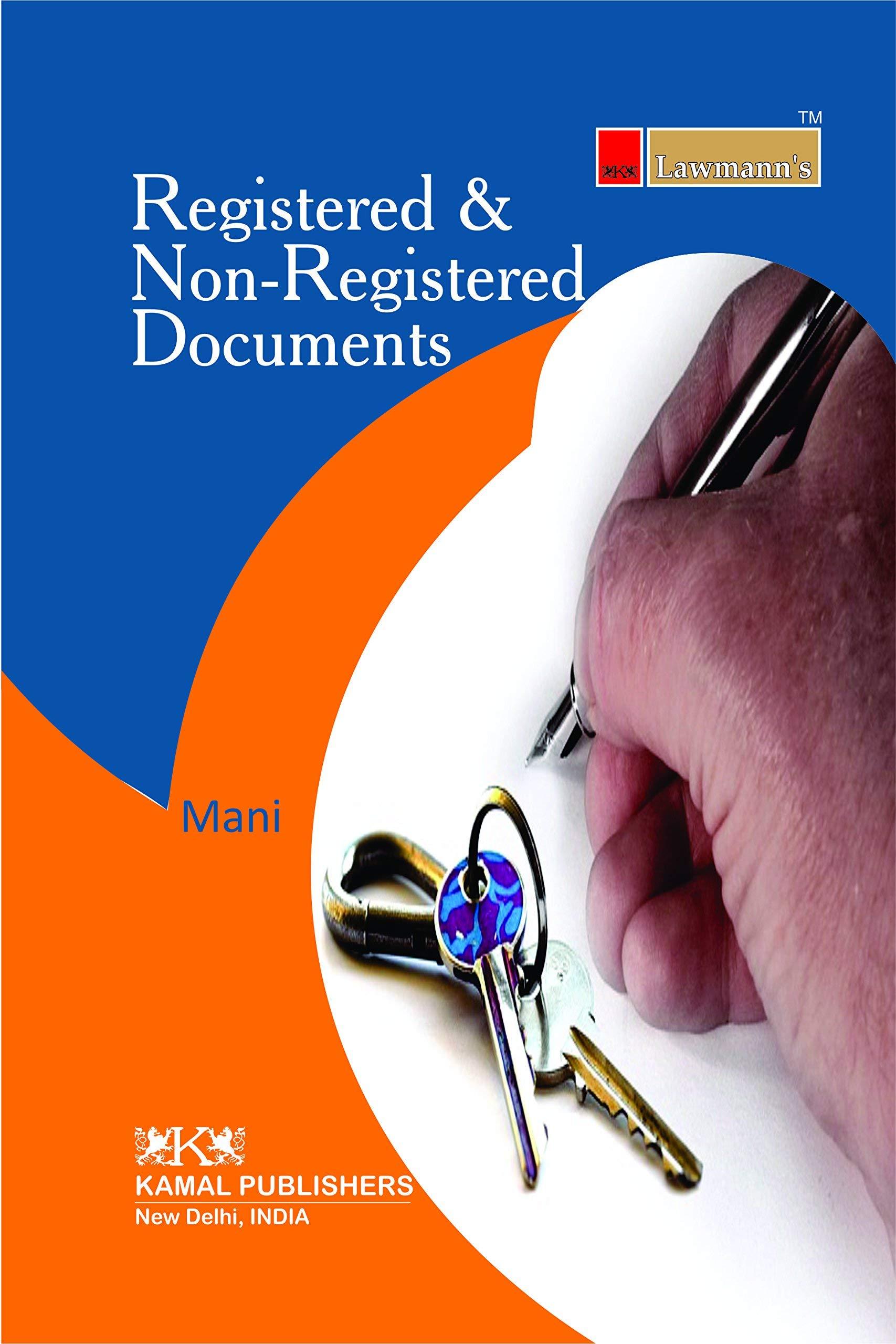 Registered & Non-Registered Documents