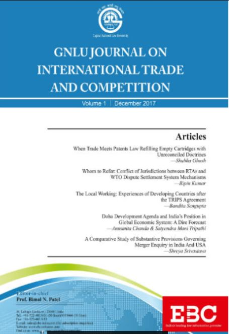 GNLU Journal on International Trade and Competition