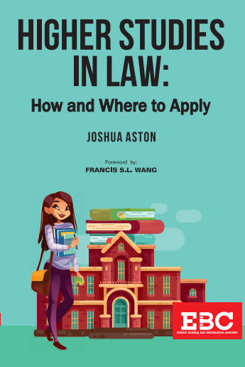 Higher Studies in Law: How and Where To Apply (Pre-Order)