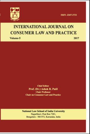 NLS INTERNATIONAL JOURNAL ON CONSUMER LAW AND PRACTICE