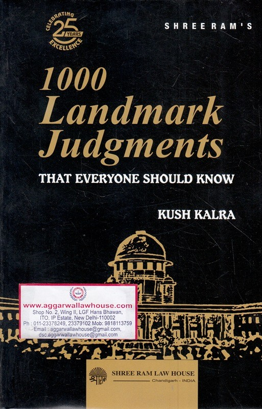 1000 Landmark Judgments - That Everyone Should Know