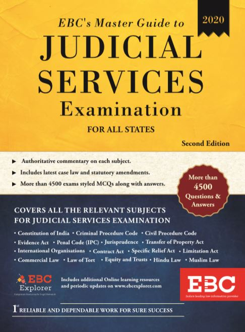 EBC's Master Guide to Judicial Services Examination For All States