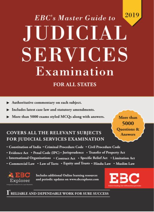 EBCs Master Guide to Judicial Services Examination For All States