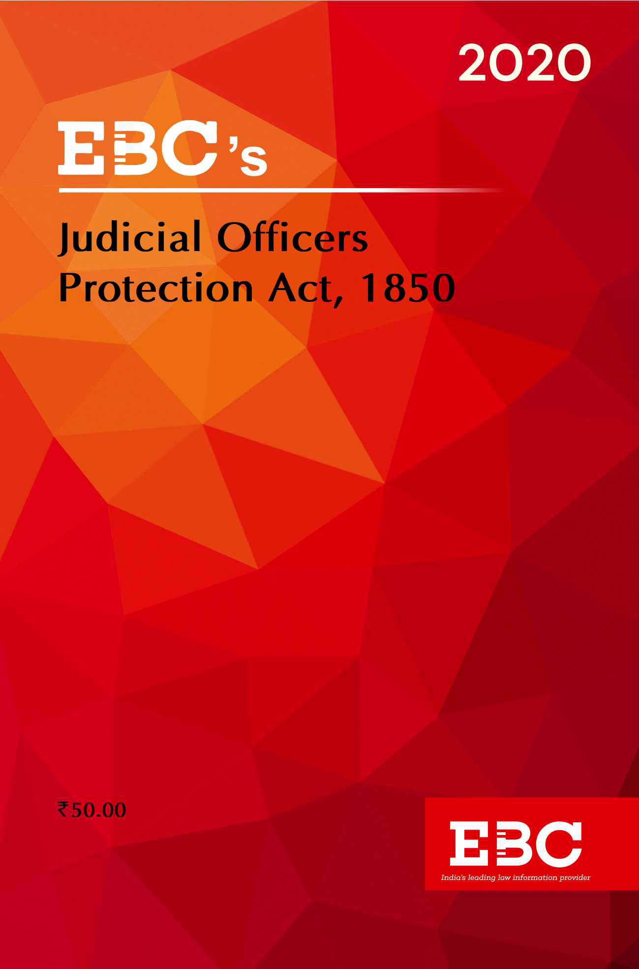 Judicial Officers Protection Act, 1850