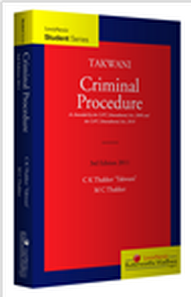 Takwani: Criminal Procedure