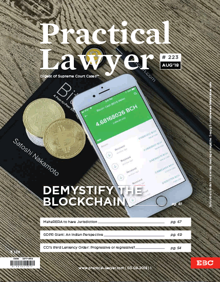 The Practical Lawyer: Demystify The Blockchain