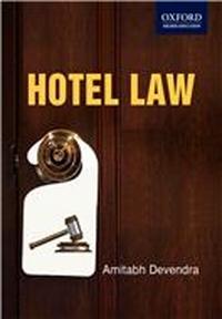 Hotel Law, 1/e