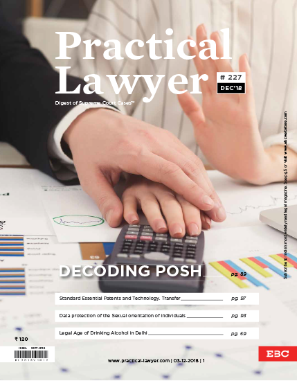 Practical Lawyer: Decoding Posh