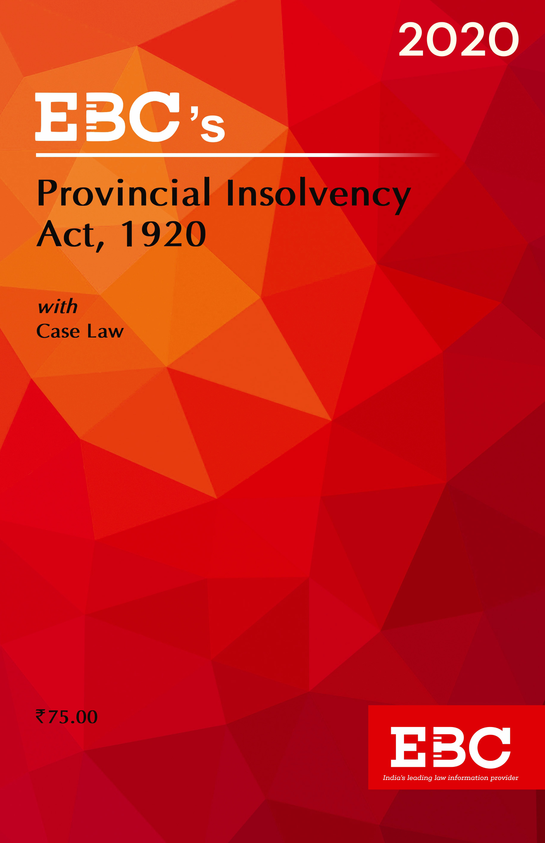 Provincial Insolvency Act, 1920