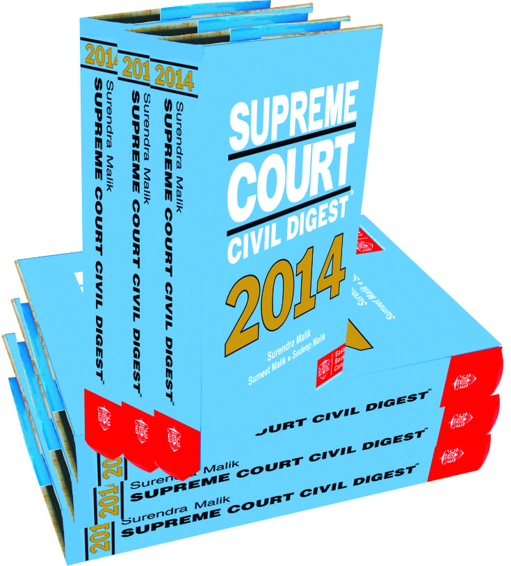 Supreme Court Civil Digest (2009 to 2014) (in 6 Volumes)