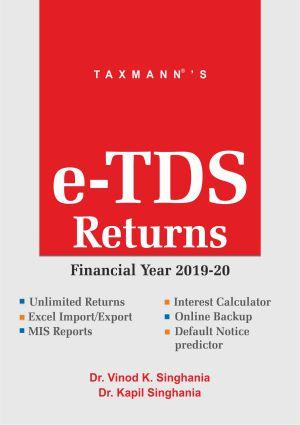 e-TDS Returns (Single User) (F.Y. 2019-20)