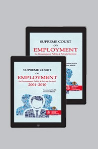Supreme Court on Employment 2001 2010 - Set of 2 Volumes