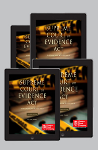 Supreme Court On Evidence Act (1950 to 2018) (In 4 Volumes)