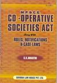 M.P.& C.G.CO-OPERATIVE SOCITIES ACT & RULES