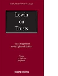 Lewin on Trusts