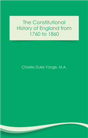 The Constitutional History of England (free eBook)