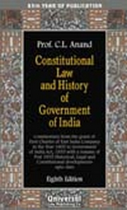 Constitutional Law and History of Government of India, 10th Edn. (85th Year of Publication)