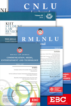 Combined Subscription to all University Law Reviews