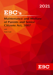 Maintenance and Welfare of Parents and Senior Citizens Act, 2007Bare Act (Print/eBook)