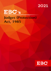 Judges (Protection) Act, 1985Bare Act (Print/eBook)