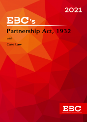 Partnership Act, 1932[Amended up to Act 34 of 2019 and as of 5-12-2020]Bare Act (Print/eBook)
