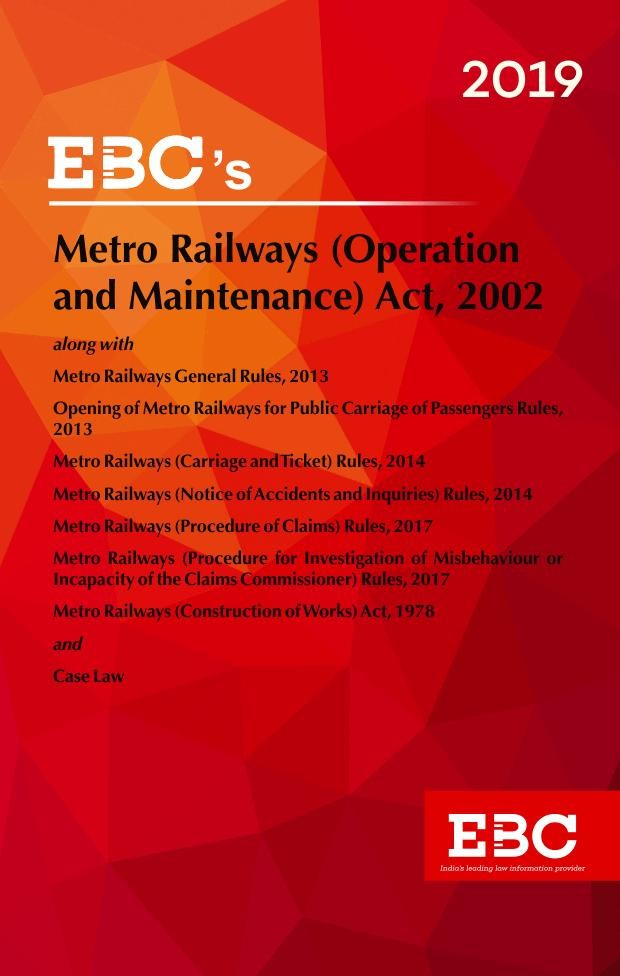 Metro Railways (Operation and Maintenance) Act, 2002