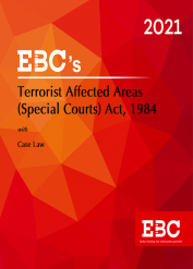 Terrorist Affected Areas (Special Courts) Act, 1984[Amended up to Act 45 of 1985 and as of 15-10-2020]-Bare Act (Print/eBook)