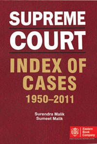 Supreme Court INDEX OF CASES (1950 to 2011)