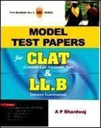 Model Test Papers For CLAT & LL.B (Paperback)
