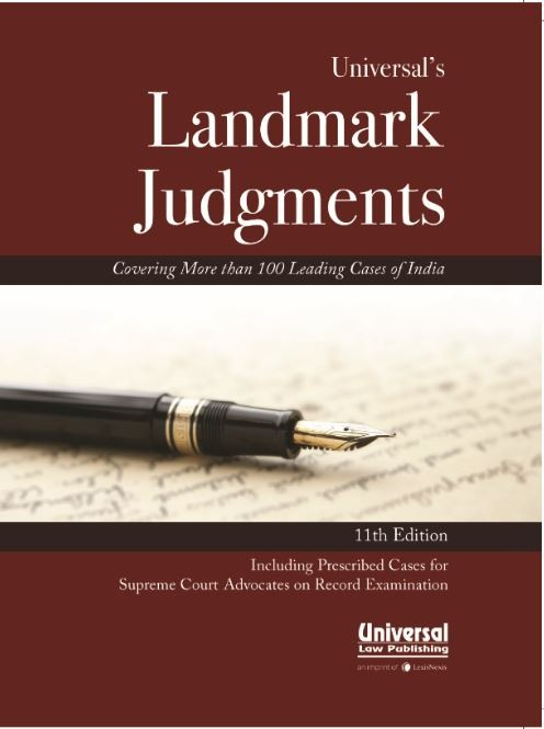 Universal's Landmark Judgments