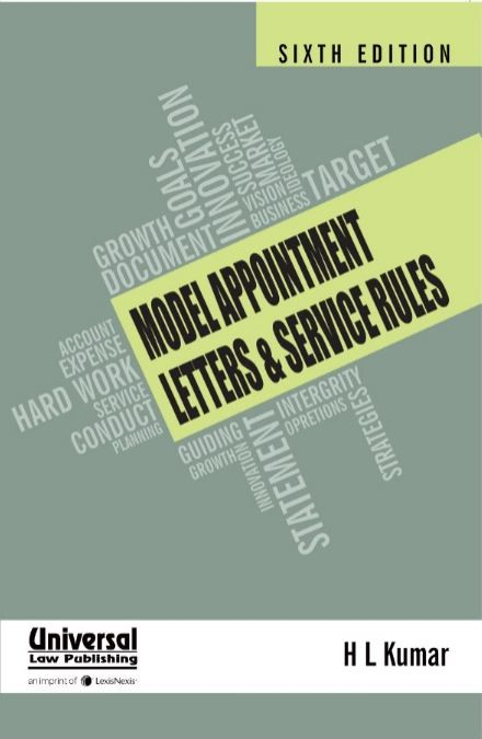 Model Appointment Letters & Service Rules