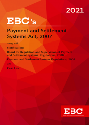 Payment and Settlement Systems Act, 2007Bare Act (Print/eBook)