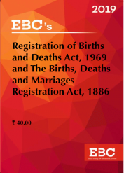 Registration of Births and Death Act, 1969 and The Births, Deaths and Marriages Registration Act, 1886