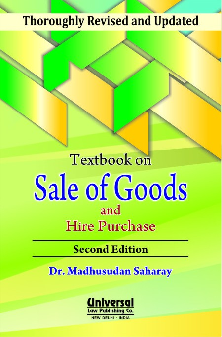 Textbook on Sale of Goods and Hire Purchase, 2nd Edn.